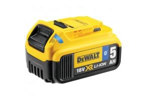 Батерия акумулаторна Li-Ion 18.0 V. 5.0 Ah. с Bluetooth, DeWALT DCB184B