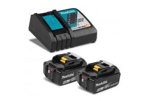 Батерия Li-Ion комплект със зарядно 18.0 V. 6.0 Ah, Makita BL1860 Set