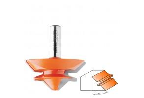 Фрезер за дърво профилен за нут CMT 955.504.11, ф 50.8х22.2 мм, ф 12 мм