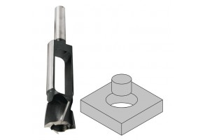 Фрезер за дърво профилен за тапи Narex Bystrice 8354, ф 25х140 мм, ф 13 мм