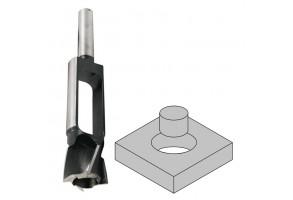 Фрезер за дърво профилен за тапи  Narex Bystrice 8354, ф 30х140 мм, ф 13 мм