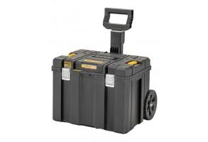 Куфар за инструменти пластмасов на колела 635х512х512 мм, черен, DeWALT TSTACK IP54