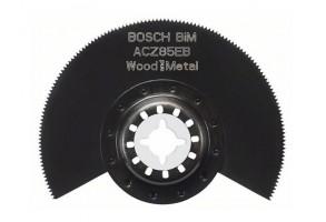 Нож за многофункционален осцилатор полукръгъл ф 85 мм, Bosch ACZ 85 EB