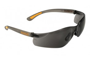 Очила защитни противоударни UV черни,  DeWALT Contractor Pro