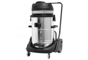 Прахосмукачка електрическа за сухо и мокро почистване 2x1200 W, 78 л REM Power VC 6292