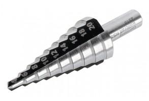 Свредло за метал стъпаловидно 8-30 мм, 52.50 мм, HSS, 10 мм, Wolfcraft
