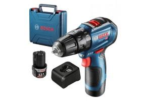 Винтоверт акумулаторен Bosch GSR 12V-30, 12 V, 30 Nm